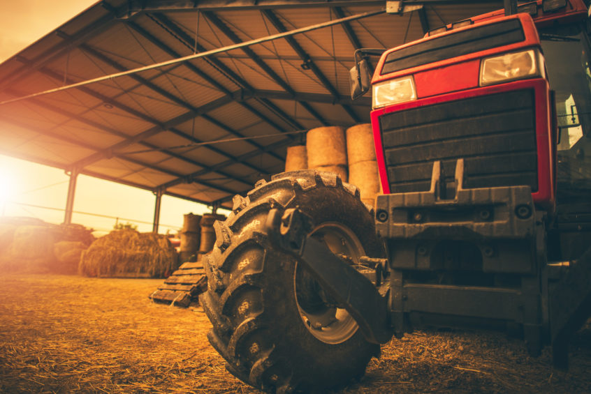 Farming equipment and structures can both obtain coverage with farm insurance policies